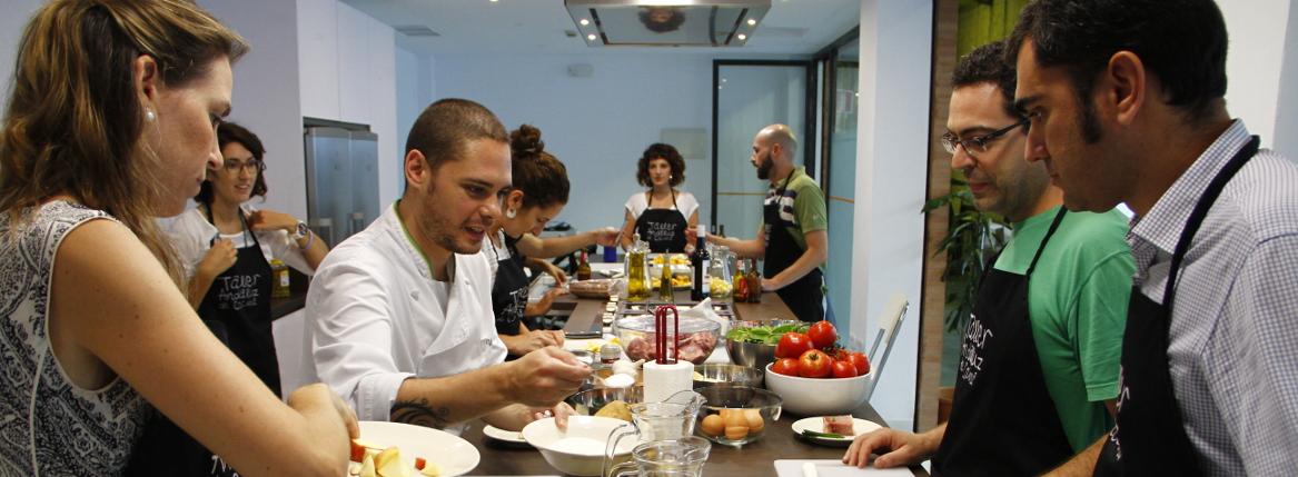 Taller andaluz de cocina cursos de cocina en sevilla for Cursos de cocina en castellon